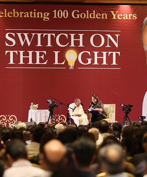 Talk By Rev Dada JP Vaswani for Switch On The Light event