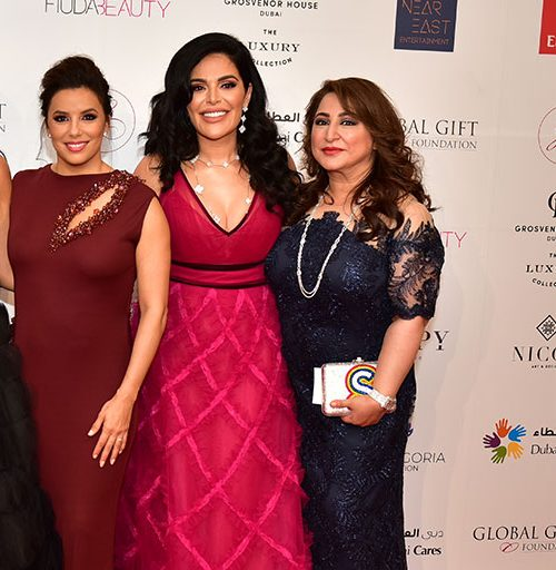 Global Gift Gala 2019 with Mona Kattan, Huda Kattan & Eva Longoria