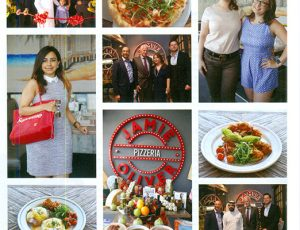 FACT DUBAI - SIMA VED AT OPENING OF JAMIE OLIVER'S PIZZERIA OPENING